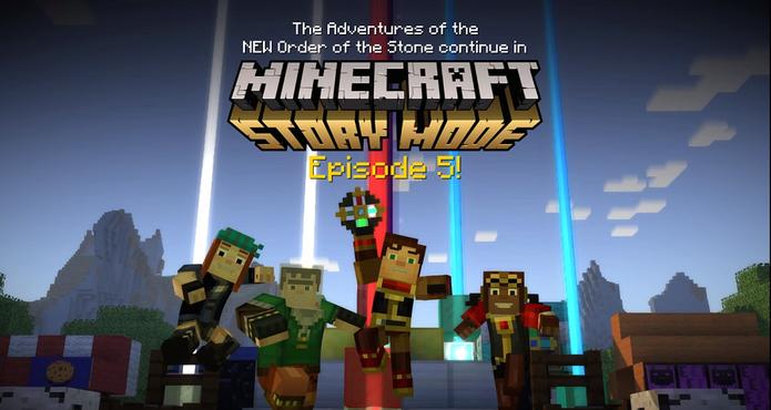 Minecraft: Story Mode Episode 5 (Foto: Divulgação/Mojang)