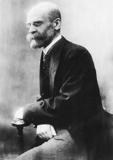 Emile Durkheim (Foto: Wikimedia Commons)
