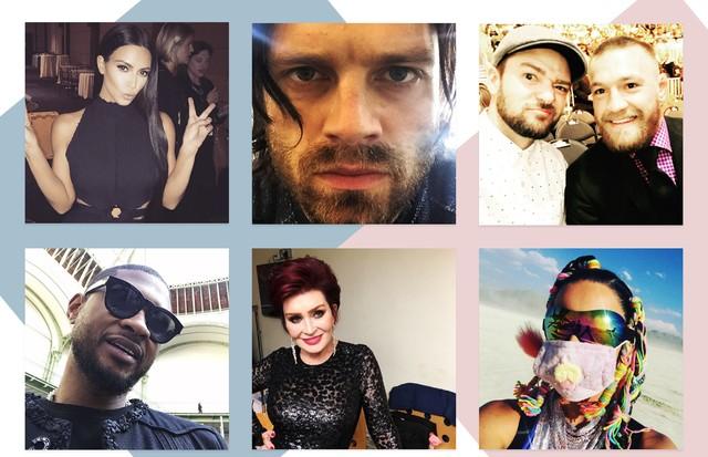 """De Kim Kardashian a Katy Perry, veja as 10 selfies mais """"Googladas"""" em 2016 (Foto: Reprodução/Instagram)"""