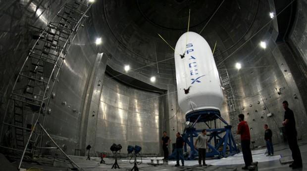 SpaceX-foguete (Foto: Divulgação)