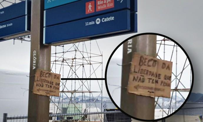 Marina da Glória Protesto Olímpicos (Foto: Cauê Motta)