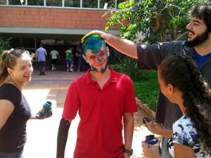 O aluno da Unicamp, em Campinas, Romoaldo Lotto Júnior (Foto: Marcello Carvalho/G1)