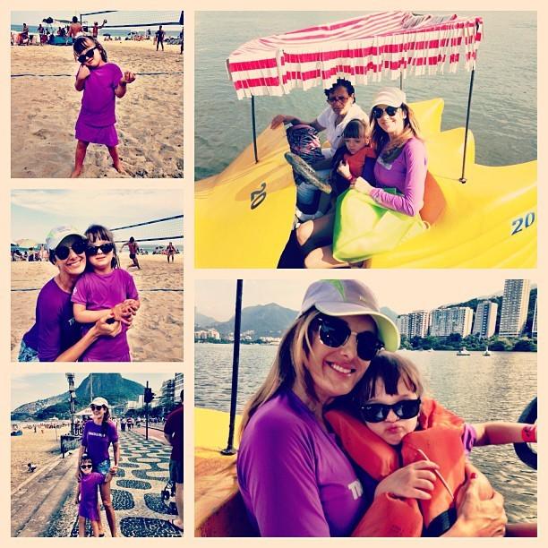 Ticiane e Rafa Justus se divertem no Rio (Foto: Reprodução/Instagram)