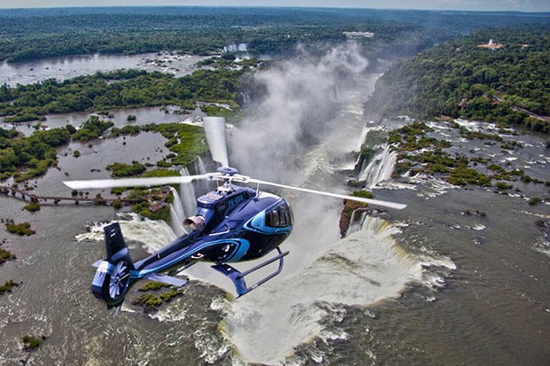Voo de helicóptero Cataratas do Iguaçu (Foto: Divulgação)