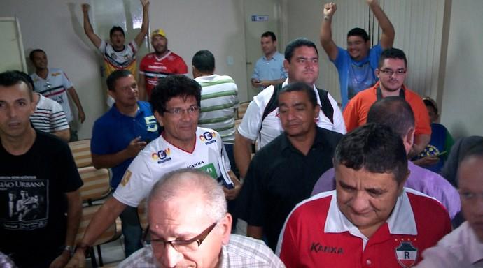 River-PI, tricampeonato estadual, TJD  (Foto: TV Clube )