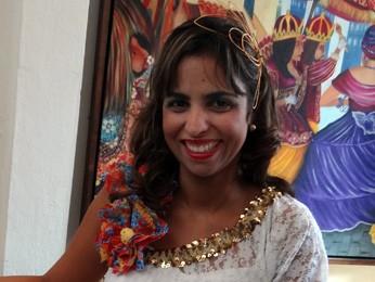 Eugênia Lima se divide entre a filha de três anos e a organização das ConXitas (Foto: Katherine Coutinho)