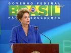 'É coerente com a minha vida', diz Dilma sobre combate à corrupção
