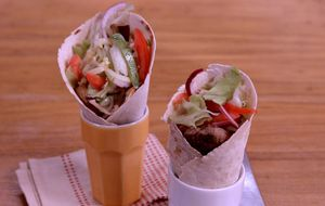 Como fazer sanduíches gregos