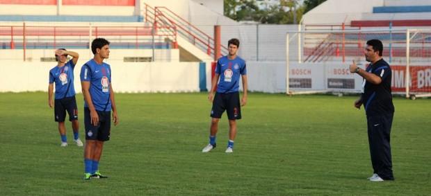 Eduardo Barroca - treino Bahia (Foto: Divulgação / EC Bahia)