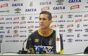 Jorginho confirma Vasco com William e Junior Dutra como titulares