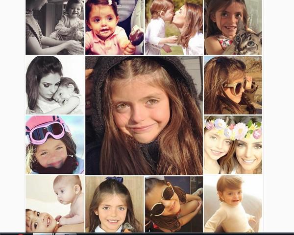 Carol Celico também fez post em homenagem à menina (Foto: Reprodução Instagram)