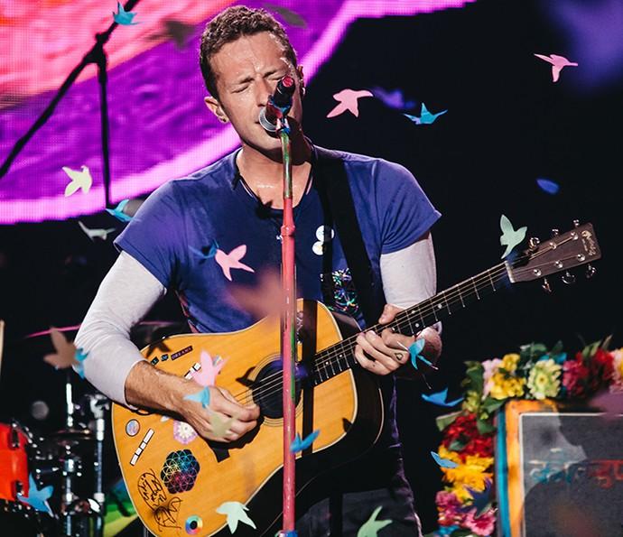 Coldplay faz show para apaixonados no Rio (Foto: Breno Galtier/T4F)