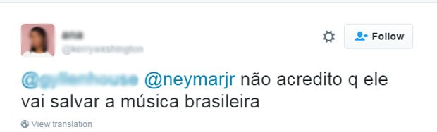 Neymar meme (Foto: Reprodução/Twitter)