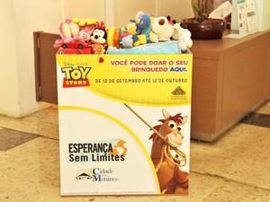 Campanha para doação de brinquedos está entre ações de destaque no Campinas Shopping (Foto: Arnaldo Ávila Jr)