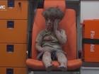 Crianças são as principais vítimas  da guerra civil na Síria