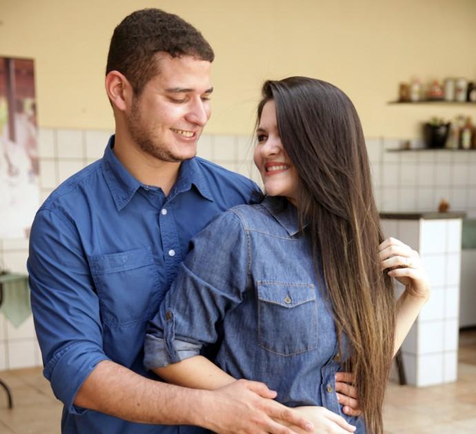 Antônio Neto pediu Iara em casamento durante a festa de formatura (Foto: Arquivo Pessoal)