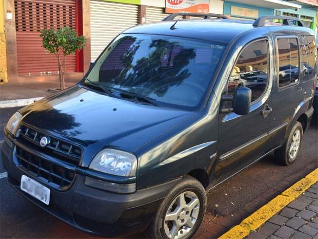Carro era usado por suspeito detido pela PM em Ribeirão Preto (Foto: Leandro Mata/G1)