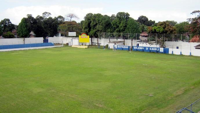 Estádio Gileno de Carli (Foto: Ivan Melo)