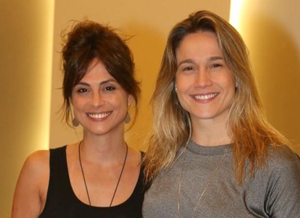Priscila Montandon e Fernanda Gentil (Foto: André Freitas/AgNews)