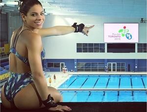 Ingrid Oliveira Saltos Ornamentais Pan Toronto (Foto: Reprodução / Instagram)