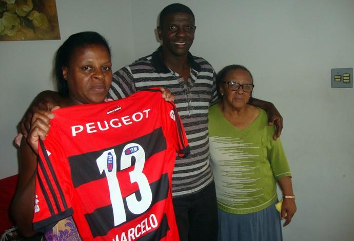 pais marcelo flamengo (Foto: Bruno Ribeiro)