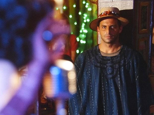E quem gosta muito do show é Cassiano (Foto: Flor do Caribe / TV Globo)