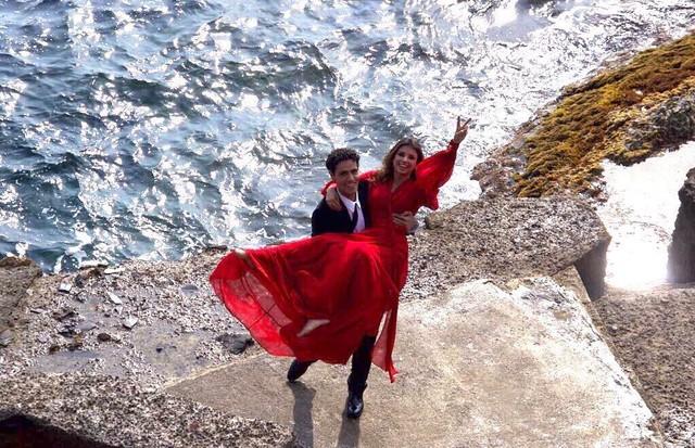 Paula Fernandes e o namorado, Thiago Arancam (Foto: reprodução/Instagram)