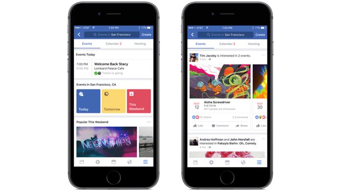Recursos do Facebook ajudam usuários a descobrir eventos e entrar em contato com empresas locais (Foto: Reprodução/Facebook) (Foto: Recursos do Facebook ajudam usuários a descobrir eventos e entrar em contato com empresas locais (Foto: Reprodução/Facebook))