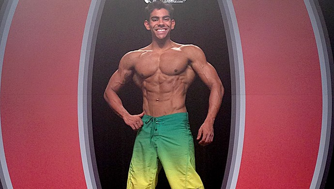 Thulio Wanderlei fisiculturismo (Foto: Arquivo pessoal atleta)