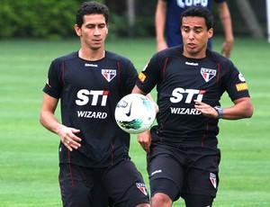 Ganso, treino do São Paulo (Foto: Luis Pires / VipComm)