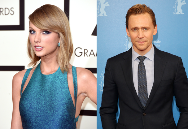 Taylor Swift e Tom Hiddleston (Foto: Getty Images)