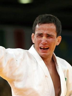 Felipe Kitadai comemora o bronze em Londres (Foto: Marcio Rodrigues / Fotocom.net)
