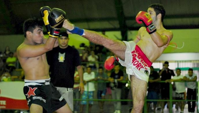 Muay Thai, amazonas (Foto: Michael Dantas/Sejel)
