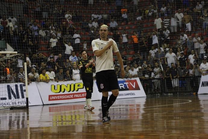 Leandro Caires Corinthians x Assoeva semifinal Liga Nacional de Futsal (Foto: Yuri Gomes/Divulgação)