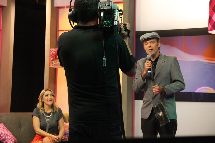 Eron Dal Molin Charlotte de Orleans e Bragança Mistura com Rodaika Eron Dalmolin Papaéu Everaldo Guilherme (Foto: Maicon Hinrichsen/RBS TV)