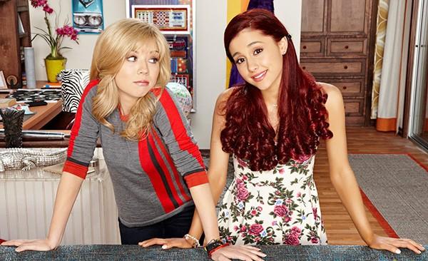 Jennette McCurdy e Ariana Grande (Foto: Divulgação)