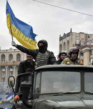 Presidente da Ucrânia deixa Kiev,  diz um dos líderes da oposição (Louisa Gouliamaki/AFP)