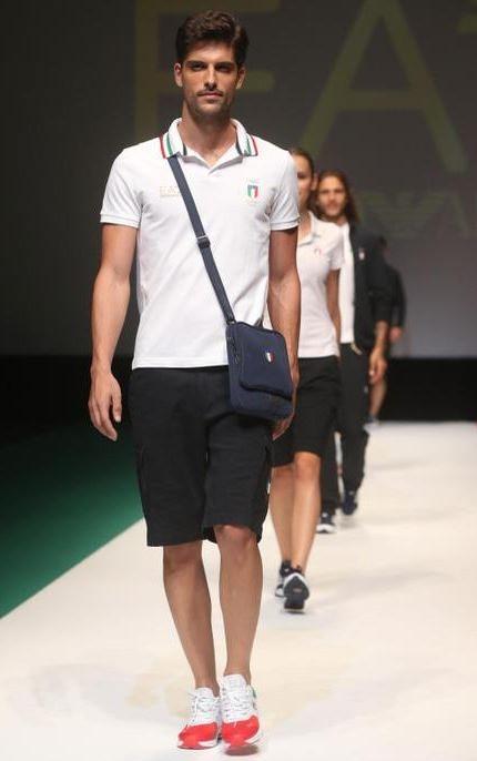 5986b40bd283f Grife Armani fará os uniformes da delegação italiana nas Olimpíadas do Rio  2016 (Foto