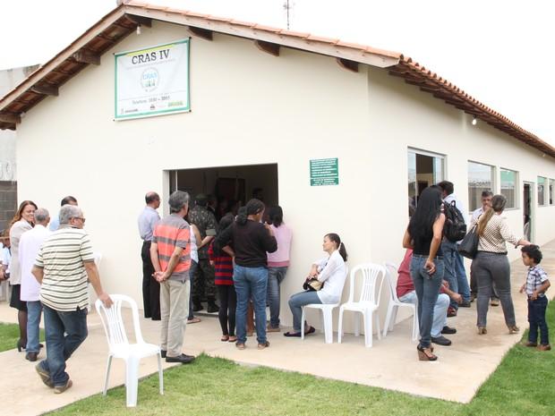 Centro de Referência e Assistência Social em Araguari (Foto: Prefeitura de Araguari/Divulgação)