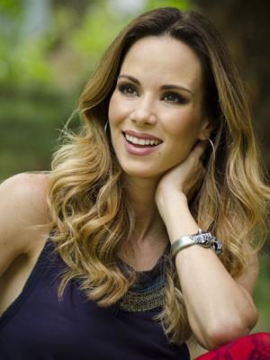 Apresentadora acredita que o batom é a uma grande arma de sedução (Foto: Raphael Dias/ TV Globo)
