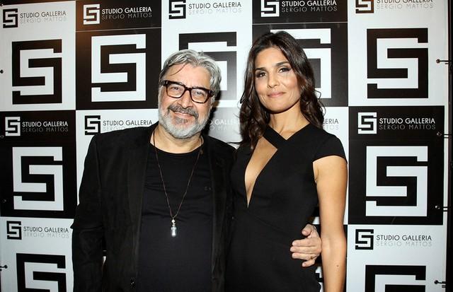 Sergio Mattos e Lucia Miranda (Foto: Paulo Otero)