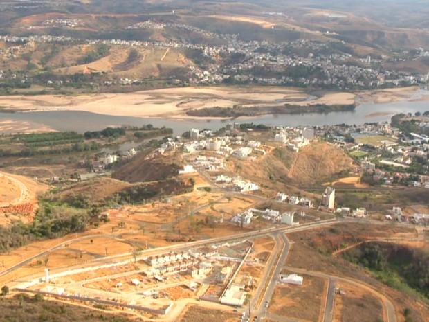 Seca no Espírito Santo (Foto: Rafael Zambe/ TV Gazeta)