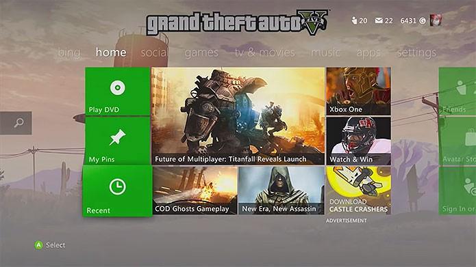 GTA V é um dos melhores temas para Xbox 360 (Foto: Reprodução/Youtube)