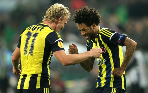 Kuyt Cristian Fenerbahçe (Foto: Reuters)