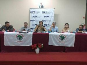 MPF discute situação de comunidade atingida pela Usina de Belo Monte (Foto: Mário de Paula/TVLiberal)