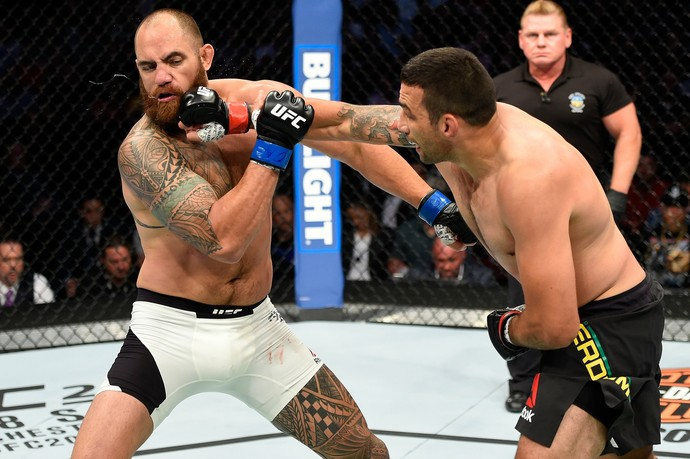 Fabricio Werdum, Travis Browne, UFC 203, MMA (Foto: Getty Images)