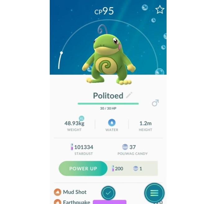 Itens abrem novas possibilidades de evolução em Pokémon GO (Foto: Reprodução/Felipe Demartini)