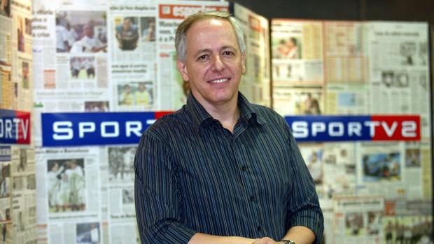 Milton Leite apresentado no SporTV (Foto: Arquivo Pessoal)