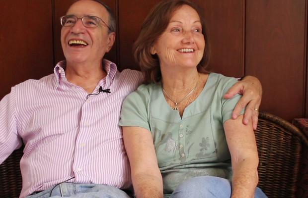 Acrácia e Francisco mostram como é possível encarar a doença de forma leve (Foto: Nathalia Tavolieri / ÉPOCA)