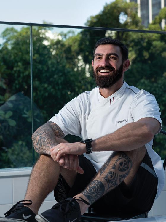 SUCESSO.Bruno Katz,do nosso Ipanema.O chef ganhou o prêmio Revelação do ano (Foto: Alexander Landau/ÉPOCA)